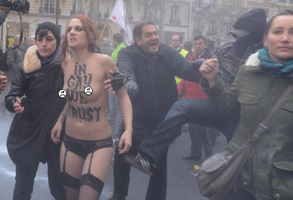 Paris Femen 2