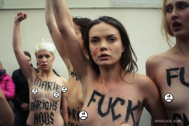 Paris Femen 3