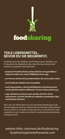 foodsharing Flyer