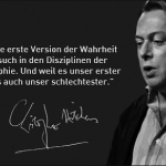 Christopher Hitchens. Montage: Wikimedia Commons / CC-BY-SA
