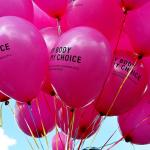 Ballons My Body My Choice